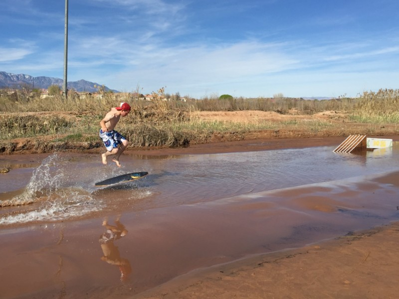 Skimboarding St George: The Waterfall | Kahoy Skim