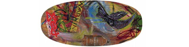 Zed The Raven Flatland Beginner Skimboard   Kahoy Skim