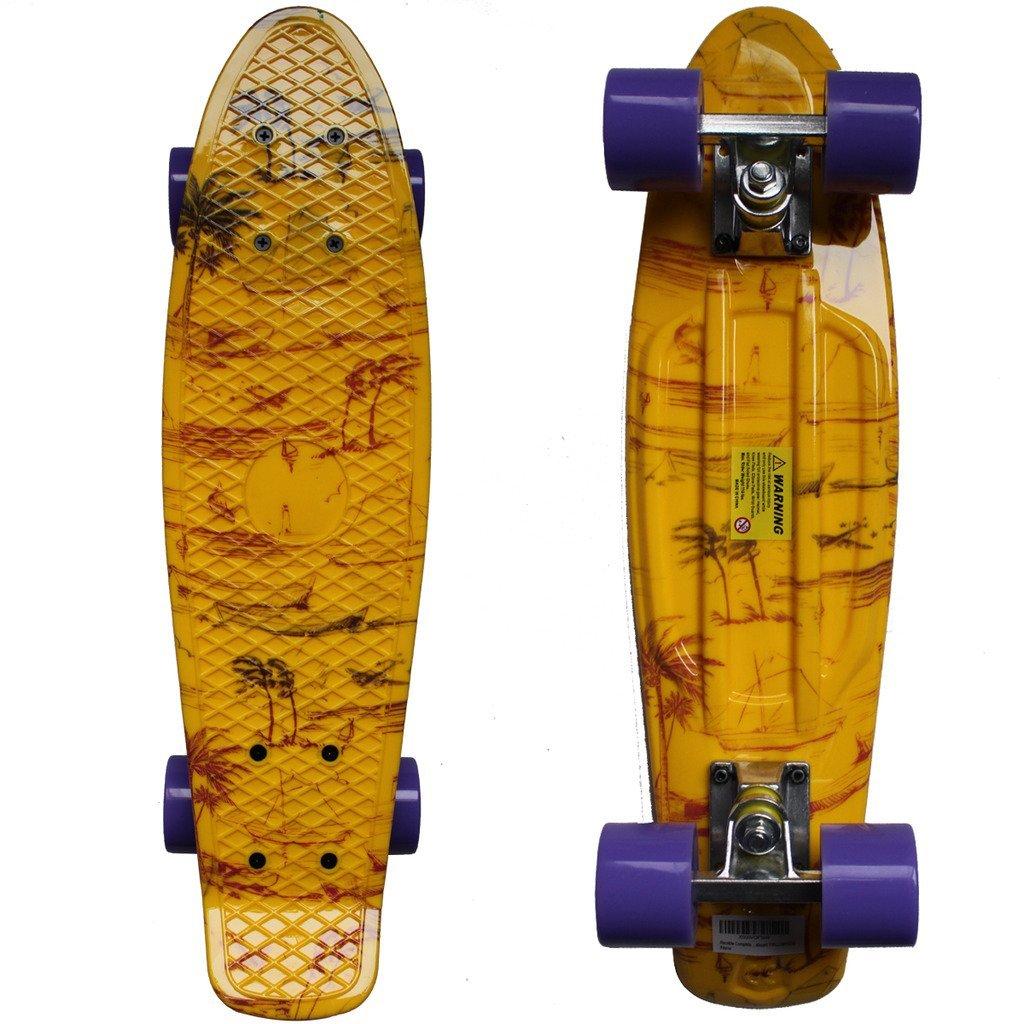 Tropical Style Penny Board   Kahoy Skim