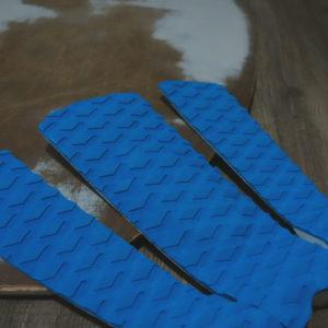 Blue Skimboard Traction Pads on Skimboard | Kahoy Skim